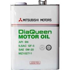 MITSUBISHI Dia Queen Motor Oil SAE 0W20 API SN/GF-5 4л