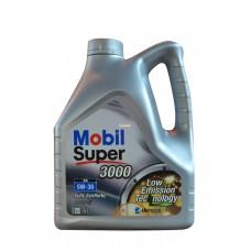 Mobil Super 3000 XE 5W30 4л