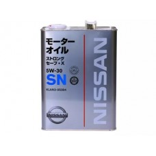 Nissan Motor Oil STRONG SAVE X SN 5W30 4л