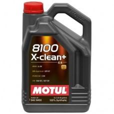 MOTUL 8100 X-clean + 5W30 5л
