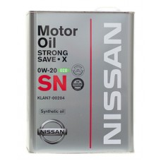 Nissan Strong Save X 0W20 4л