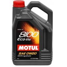 MOTUL 8100 Eco-lite 0W20 5л