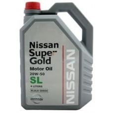 Nissan Super Gold 20W50 SL 4л
