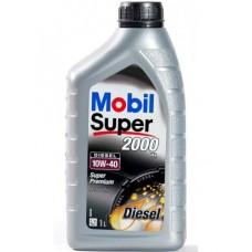 Mobil Super 2000 X1 Diesel 10W40 1л
